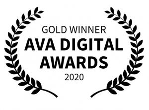 Gold winner AVA Digital Awards 2020